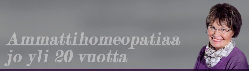 Homeopaatti Aino Ecksteinilla on yli 20 vuoden kokemus hoidoista